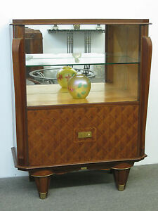 French Art Deco Showcase Display Case Vetrine Circa 1940 S