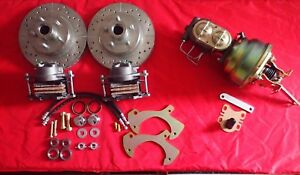 1957 1964 Ford Fullsize Galaxie Front And Rear Disc Brake Conversion