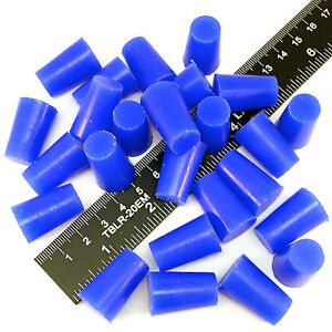 100 1 2 X 5 8 High Temp Silicone Rubber Powder Coating Plugs Cerakote Paint