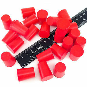 100 5 8 X 3 4 2 High Temp Silicone Rubber Powder Coating Plugs Cerakote