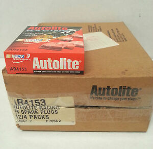Autolite Ar4153 Racing High Performance Spark Plugs Closeout Price 48 Plugs