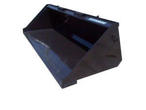 Blue Diamond 36 Standard Duty Smooth Bucket Mini Skid Steer Attachment