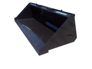 Blue Diamond 48 Standard Duty Smooth Bucket Mini Skid Steer Attachment