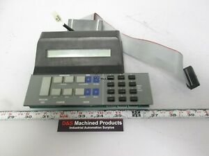 Neopost Sm94 Control Panel 12 Key Envelope Feed Counter Impression Tape Water