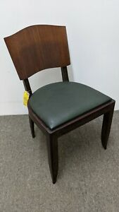 French Art Deco Dining Chairs 1935 Part Of A Complete Dining Room Set