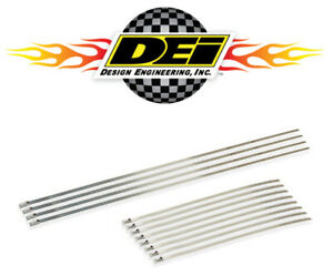 Dei 010205 Stainless Steel Locking Ties For Header Wrap Eight 8 Four 14 12 Pc