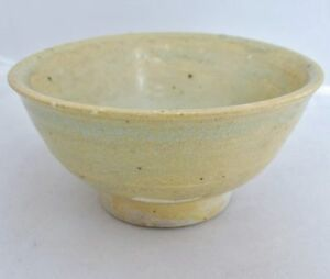 Song Dynasty Antique Chinese Celadon Green Glazed Pottery Tea Bowl 4 95