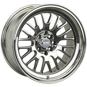 15x8 Xxr 531 Wheels 4x100 114 3 0mm 73 1 Platinum Fits Civic Crx Del So Fox