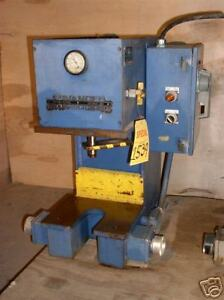 2 Ton Advanced Hydraulics c Frame Hydraulic Press