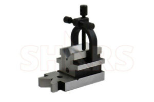 Shars Toolmakers V block Clamp New