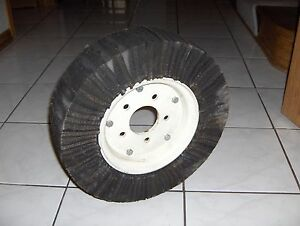 Bush Hog Brush Rotary Mower Cutter Tail Wheel Solid Tire New
