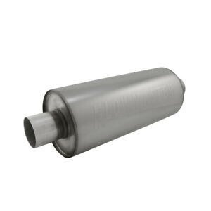 Flowmaster 12014310 Dbx Series Muffler 2 Inlet outlet Round 304 Stainless Steel