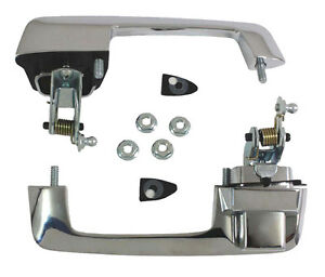 New Trim Parts Outside Door Handle Pair For Listed Roadrunner Super Bee Gtx