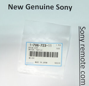3x New Sony Switch Tactile Button 178672311 For Hdr ax2000 Hdr ax2000e Hdr cx100
