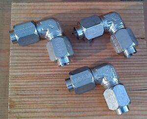 3 Ssp Tube Union Fittings 1 2 316 Stainless Steel