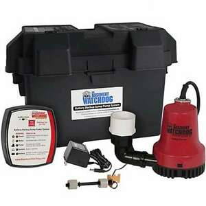 Basement Watchdog Bwe Emergency Backup Sump Pump 1000 Gph 10