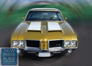 1971 72 Oldsmobile Cutlass 442 Ram Air W31 350 Appearance Package Kit