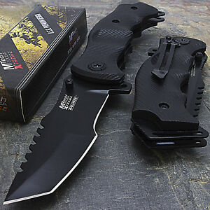 9quot; MTECH USA TACTICAL TANTO LARGE SPRING OPEN ASSISTED FOLDING POCKET KNIFE EDC $24.95
