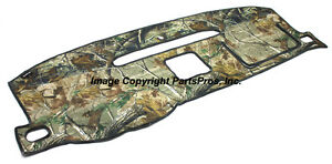 New Realtree Ap Camo Camouflage Dash Mat Cover Listed 2007 13 Chevy Gmc Truck
