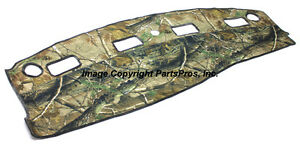 New Realtree Ap Camo Camouflage Dash Mat Cover For 2003 05 Dodge Ram Truck