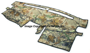 New Realtree Ap Camo Camouflage Dash Mat Cover For 2004 13 Titan Truck W O Nav