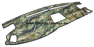 New Realtree Ap Camo Camouflage Dash Mat Cover For 2007 13 Toyota Tundra Truck
