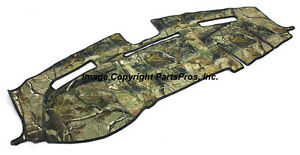 New Realtree Ap Camo Camouflage Dash Mat Cover For 2010 13 Dodge Ram Truck