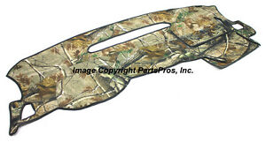 New Realtree Ap Camo Camouflage Dash Mat Cover For Listed 2007 13 Chevy Truck