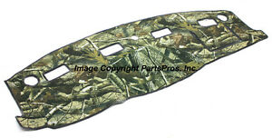 New Realtree Hardwoods Camo Camouflage Dash Mat Cover For 2006 08 Dodge Ram