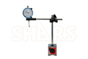 Shars 4 Ways 135 Lbs Magnetic Base With 1 Dial Indicator New