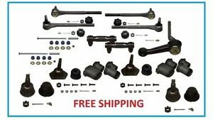 68 69 70 Gm Deluxe Suspension Idler Arm Ball Joints Tie Rod Chevelle Gto Round
