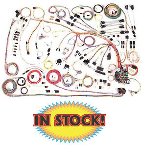 American Autowire 510372 1966 68 Chevy Impala Classic Update Wiring Harness