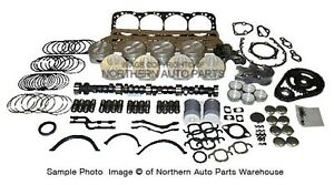 Chevy 350 1981 1985 Master Overhaul Kit Complete Rebuild For Sbc