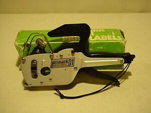 Primark D1 Price Tag Label Gun Labeller Stickers Pricing Pricer Label Tool