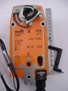 Belimo Actuator Afbup 24 240 Vac 24 125 Vdc 180 In lb 20nm Ships Same Day