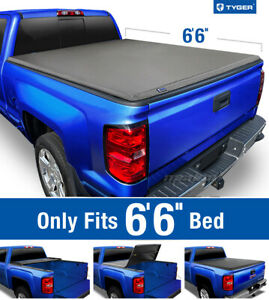 Tyger T3 Tri Fold Tonneau Cover For 1988 2007 Silverado Sierra 6 5ft 78in Bed
