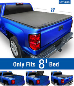 Tyger T3 Tri Fold Tonneau Cover For 1988 2007 Silverado Sierra 8ft 96in Bed