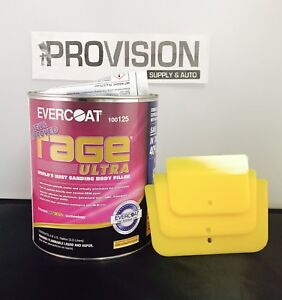 Evercoat 125 Rage Ultra World S Best Sanding Body Filler Gallon
