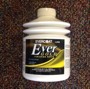 Evercoat Evergold Finishing Putty 30 Oz Fib 406