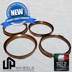Polycarbonate Hub Centric Hubcentric Rings For 73 1 To 66 6 Audi Mercedes Benz