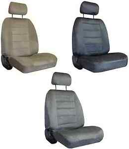 For 2007 2010 Ford Explorer Sport Trac Velour Regal Interwoven Weave Seat Covers