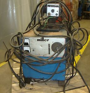 Miller Electric Mfg Dc Welder Model Cp 250ts 3 Phase W Wire Feed M4 18388lr