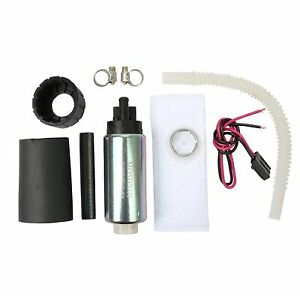255lph Center Inlet High Performance Efi Fuel Pump Kit Replaces Gss340