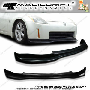 Made For 2006 2008 06 07 08 Nissan Fairlady Z Z33 350z Jdm Gt Racing Front Lip