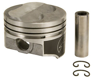 12 To 1 Forged 220 Dome 350 Chevy Piston 4 030 Bore L2252yf30 Set Of 8