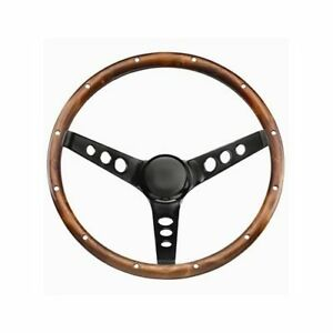 Grant Classic Wood Steering Wheel 13 5 Dia 3 Spoke 3 75 Dish 313
