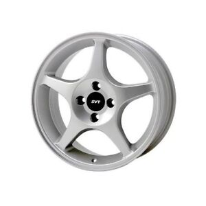Ford Racing Wheel Svt Focus Aluminum Silver 17 X7 4x4 25 Bc 5 94 Backspace Ea