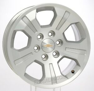 Chevy Silverado Tahoe Suburban 18 Z71 Oem Factory Gm Wheels Rims Set Of 4
