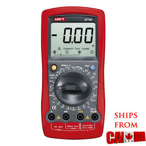 Uni t Ut105 Handheld Automotive Multipurpose Meter 10a Multimeter