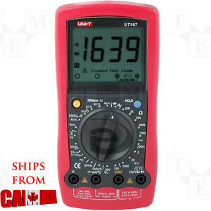 Uni t Ut107 Handheld Automotive Multipurpose Meter 10a Multimeter